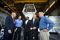 US Navy 110325-N-UH963-159 Secretary of Navy (SECNAV) the Honorable Ray Mabus tours the Austal USA shipyard in Mobile, Ala.jpg