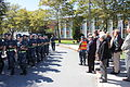US Navy 110916-N-CQ687-003 Sailors at Officer Training Command, Newport, march past a class reunion of members of the Officer Candidate School Clas.jpg