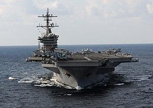 US Navy 120120-N-GZ832-357 The Nimitz-class aircraft carrier USS Carl Vinson (CVN 70) is underway in the Arabian Sea.jpg
