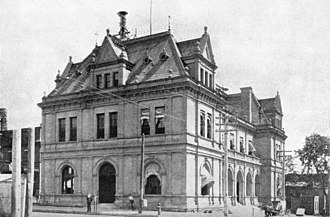 Mifflin E. Bell - Image: US Post Office & Court House, Quincy, Illinois