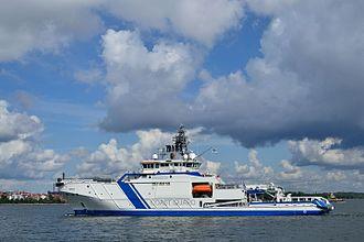 Finnish Border Guard - Offshore patrol craft Turva.
