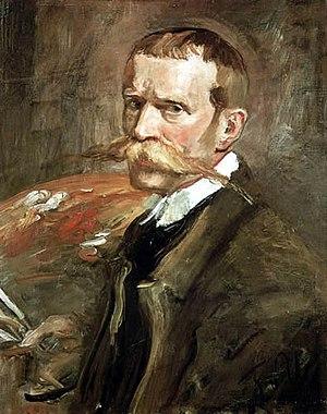 Fritz von Uhde - Uhde, self-portrait, 1898