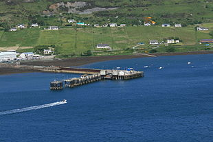 Uig Harbour and Pier