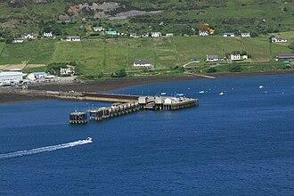 Uig, Skye - Image: Uig Pier