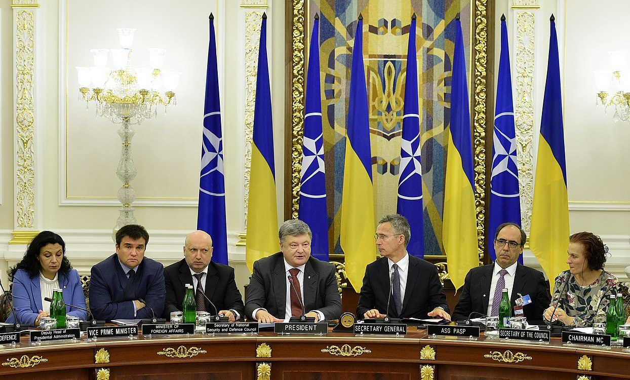 Ukraine – NATO Commission chaired by Petro Poroshenko (2017-07-10) 25.jpg