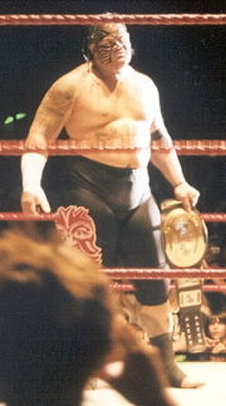 Umaga (wrestler) - Umaga as the Intercontinental Champion