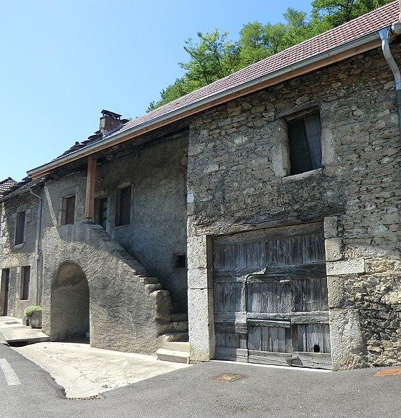 Une maison de Pugieu.