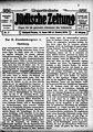 Ungarländische Jüdische Zeitung vom 14. Januar 1910, S. 1.jpg