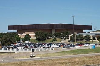 UNT Coliseum - Image: University of North Texas September 2015 44 (UNT Coliseum)