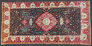 "Persian carpet - 16th century, the ""Schwarzenberg Carpet"""