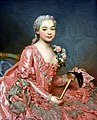 Unknown Lady, called Baroness de Neubourg-Cromière, 1756, by Alexander Roslin (1718-1793). Nationalmuseum, Stockholm, Sweden.jpg