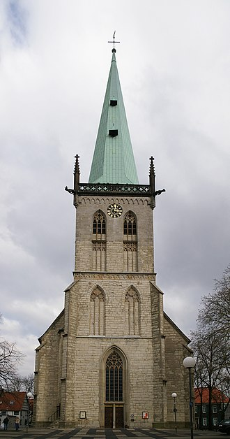 Unna - The medieval Gothic City Church