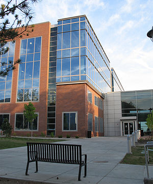 University of Utah College of Engineering -  The John and Marva Warnock Engineering Building from the North.