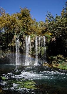 Düden Waterfalls group of waterfalls in the province of Antalya, Turkey