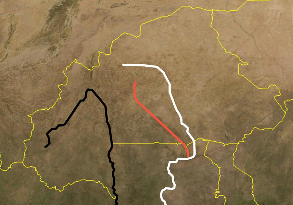 Upper Volta rivers