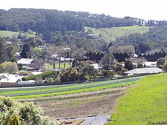 Uraidla, South Australia - Market gardens in Uraidla