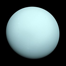 Image illustrative de l'article Uranus (planète)