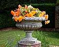 Urn planter at Easton Lodge Gardens, Little Easton, Essex, England 3.jpg