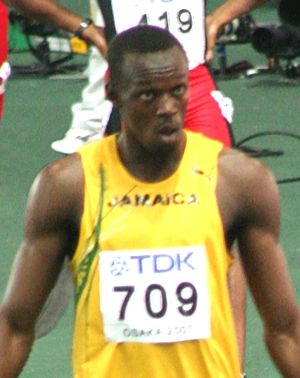 Usain Bolt Osaka 07