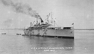 Uss wright av1 guantanamo apr 1927