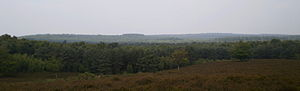 Utrecht Hill Ridge - Utrecht Hill Ridge as seen from the Elsterberg