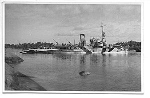 Finnish gunboat Hämeenmaa