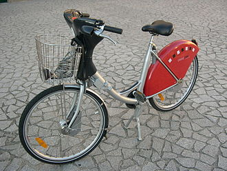 Vélo'v - A Vélo'v Bicycle