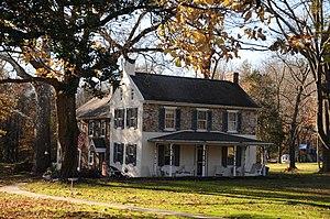 Wrightstown Township, Bucks County, Pennsylvania - Vansant Farmhouse, built 1768