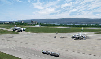 Varna Airport - Apron view