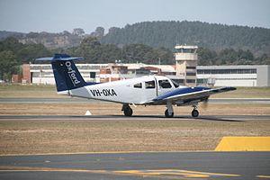 Oxford Aviation Academy - A Piper PA-44 Seminole of OAA's Australian campus