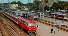 VILLINUS RAILWAY STATION LITHUANIA SEP 2013 (9903269833).jpg