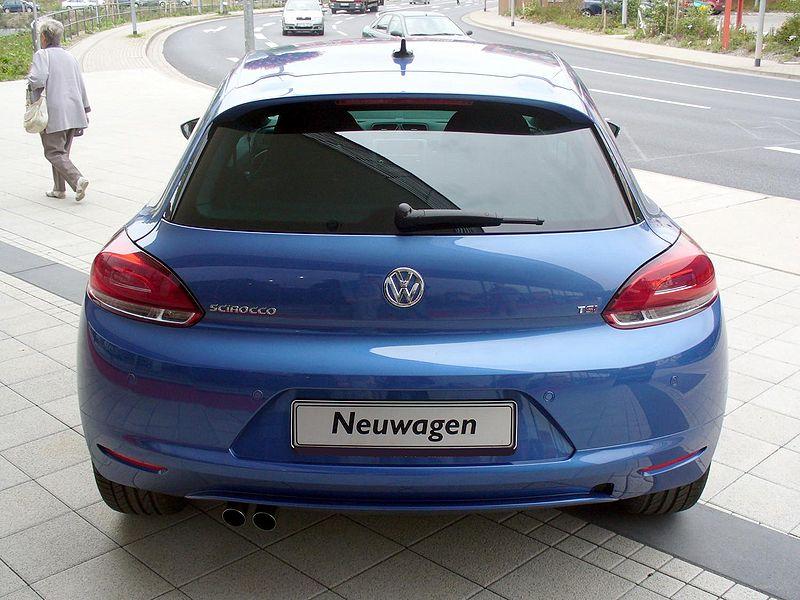 File:VW Scirocco III Sport 1.4 TSI Risingblue Hinten.JPG