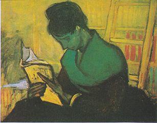 Van Gogh - Die Romanleserin.