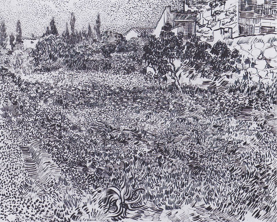 File:Van Gogh - Garten mit Blumen.jpeg - Wikimedia Commons