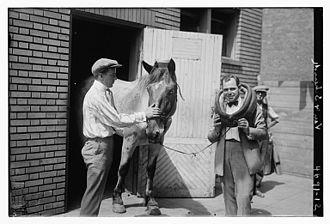 Van and Schenck - Van and Schenck horsing around in 1918