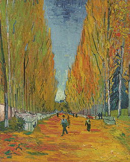 <i>Les Alyscamps</i> painting by Vincent van Gogh (F569)