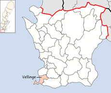Vellinge Municipality in Scania County.png