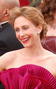 Vera Farmiga on the red carpet at the 82nd Academy Awards