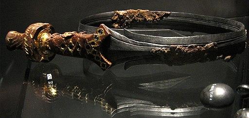 Verbogen Keltische zwaard
