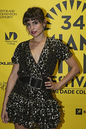 Verónica Echegui - Veronica Echegui at the 2017 Miami International Film Festival presentation of Don't Blame the Karma for Being an Idiot