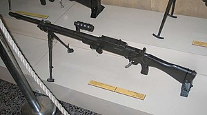 Vickers–Berthier - Image: Vickers Berthier M1924 light machine gun batey haosef 1