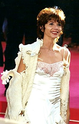 Victoria Abril in Cannes, 2000.