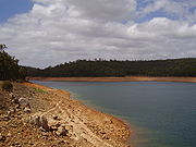 Victoria Dam, at 30.6% of capacity