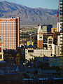 View from the 30th floor Monte Carlo Hotel, Las Vegas (3191365641).jpg