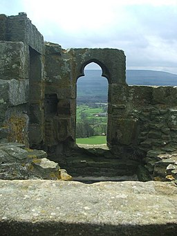 View from the top of Bolton Castle. - geograph.org.uk - 161376