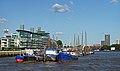 View of Hermitage Community Moorings from The Thames. London.jpg
