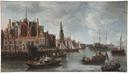 View of Nieuwe Kerk in Amsterdam (Anthoine Beerstraaten) - Nationalmuseum - 18326.tif