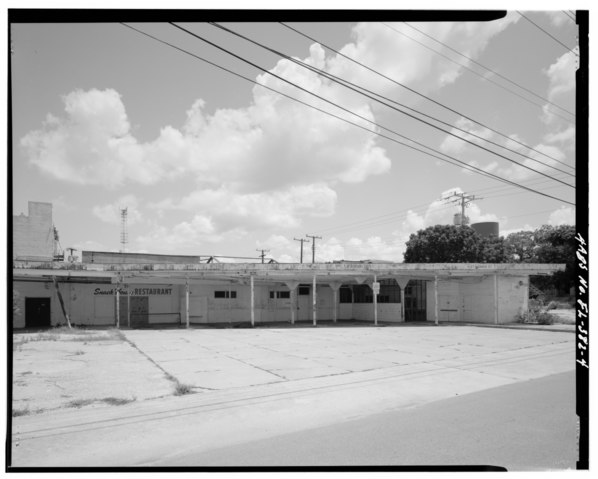 file view of post office arcade bus depot addition from monroe street facing east post office. Black Bedroom Furniture Sets. Home Design Ideas