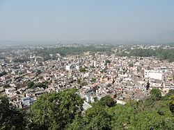 View of city from the Palace Nalagarh