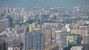 Sarajevo Canton - Image: View towards BHRT Sarajevo